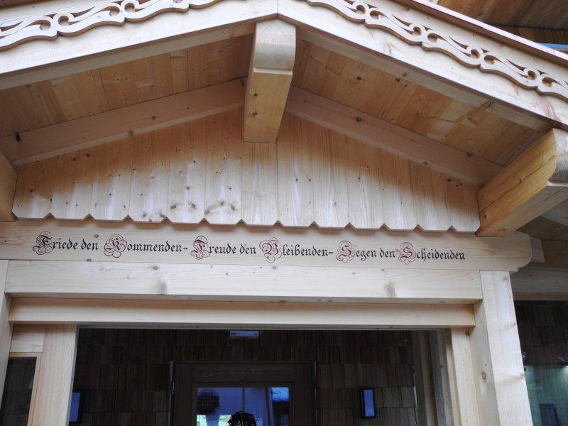 Eingangstür Krimmler Tauenhaus