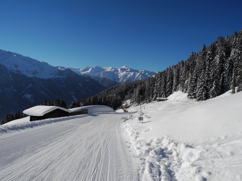 Rodelweg Wildkogel Almhuetten