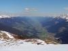 Blick nach Osten aufs Salzachtal